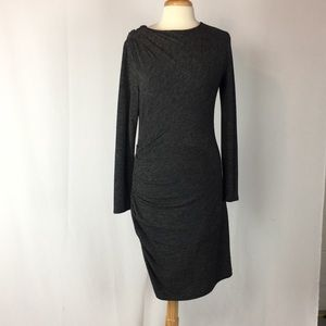 Banana Republic Ruched Knit Dress
